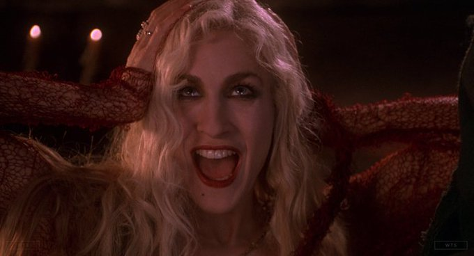 Sarah Jessica Parker is now 54 years old, happy birthday! Do you know this movie? 5 min to answer!