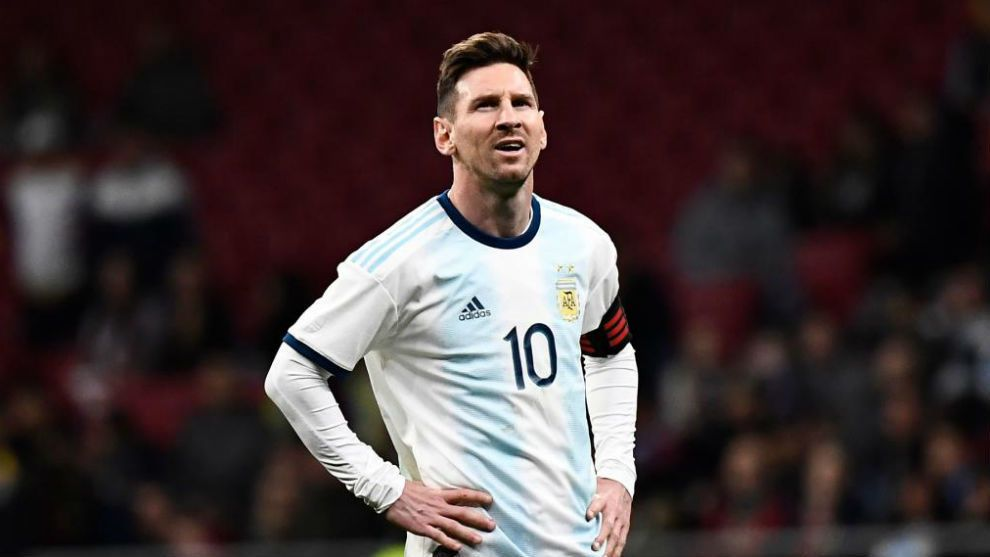 Messi, ante Venezuela.