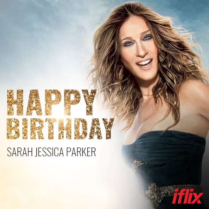 Happy Birthday Sarah Jessica Parker aka Carrie Bradshaw!