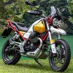 Image for the Tweet beginning: Moto Guzzi V85 TT