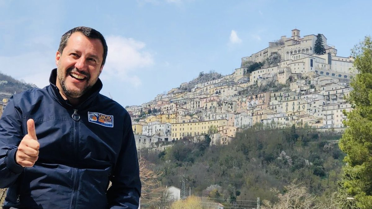 Matteo Salvini's photo on #Basilicata