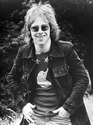Happy Birthday to British singer songwriter Elton John, born on this day in Pinner, Middlesex in 1947.