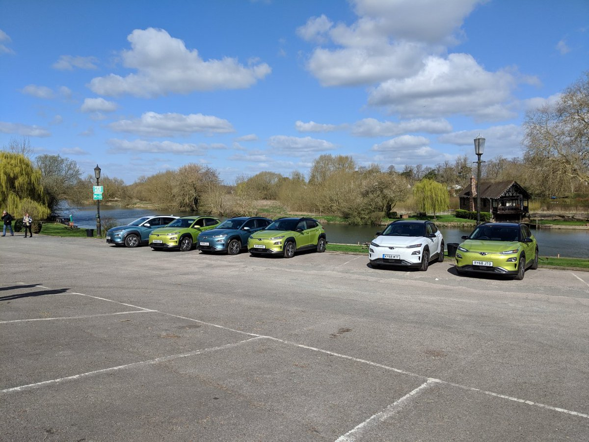 Long termer photoshoot day with the @Hyundai_UK #Kona #EV