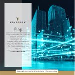 Image for the Tweet beginning: Ping is especially important in