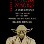 Image for the Tweet beginning: La exposición Universo Star Wars