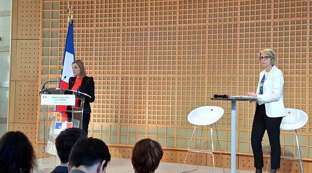 """.@AgnesRunacher : """"L'année 2019 sera une année importante pour la transformation de la #DGCCRF, afin d'améliorer le service rendu aux citoyens et aux entreprises"""""""