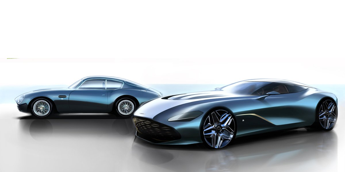 The DBS GT Zagato will…