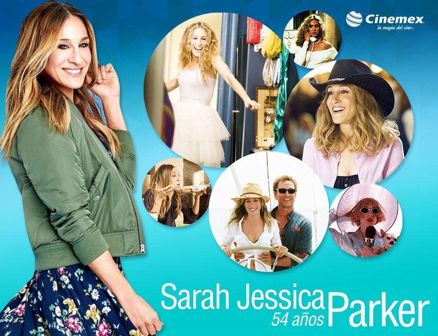 Icónica y fashionista, hizo que más de uno quisiera vivir en Nueva York Hoy felicitamos a #SarahJessicaParker, comentanos con un GIF cuál de sus películas es tu preferida.