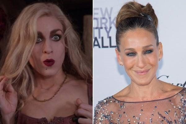 Happy Birthday to Sarah Jessica Parker, the actress who played Sarah Sanderson in Hocus Pocus!