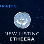 Image for the Tweet beginning: Today Etheera is listed @Exrates_Me