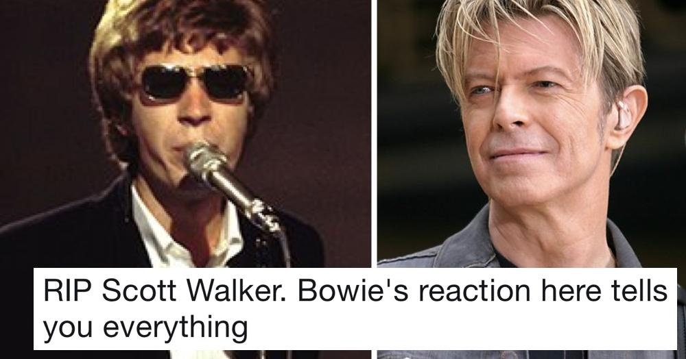 The Poke On Twitter Scott Walker S Surprise Birthday Message For David Bowie Went Viral Today Because It Really Is Quite Something Ripscottwalker Https T Co Mal5ygsfr4 Https T Co Zk56pizyfx