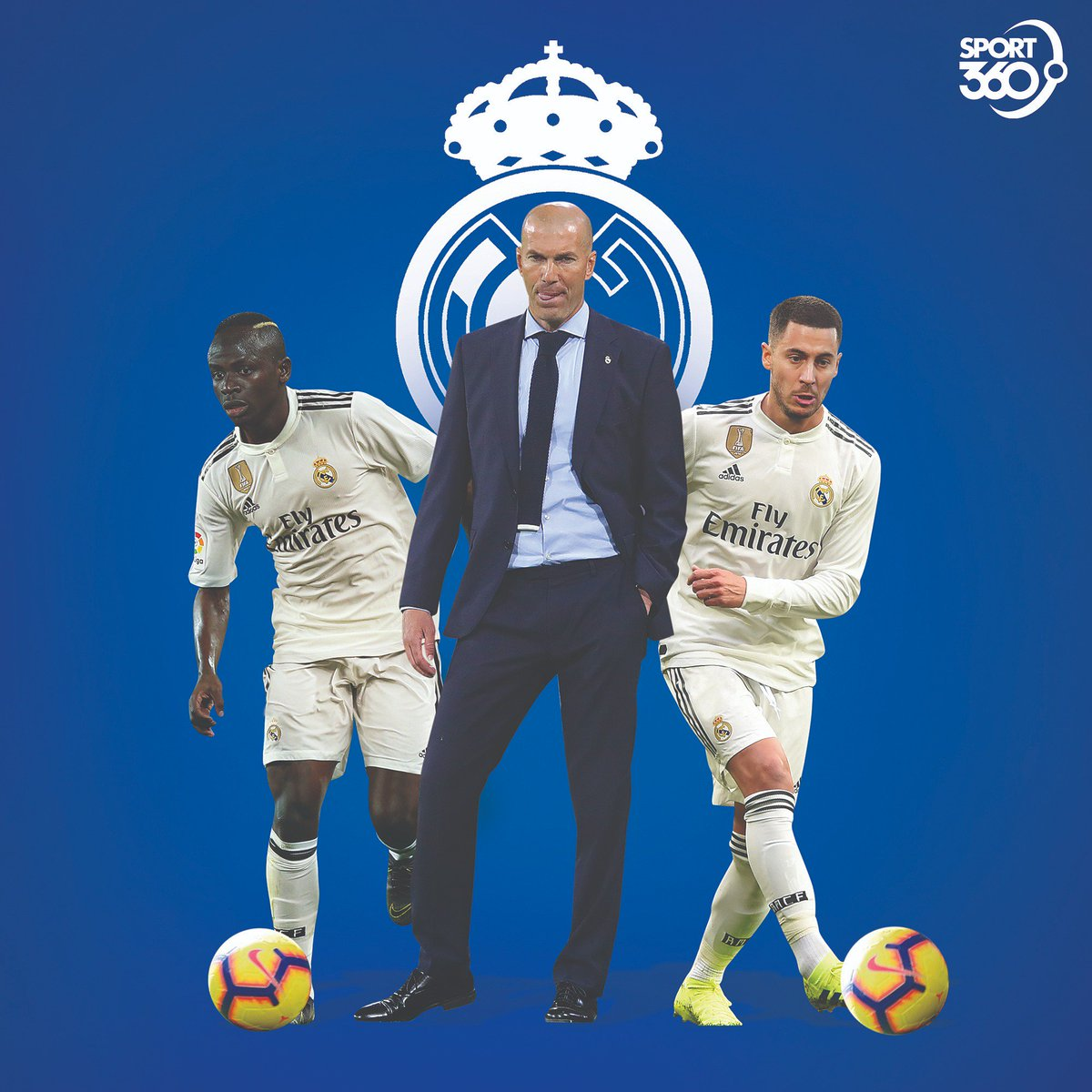 You're #Zidane, and you need to pick just one of them to join #RealMadrid. Which one will you go for? 🤔  #Mane  #Hazard