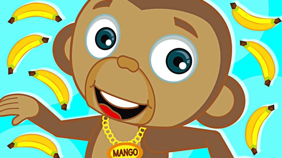 Monkey Song | MANGO – Funny Baby Monkey | + More Nursery
