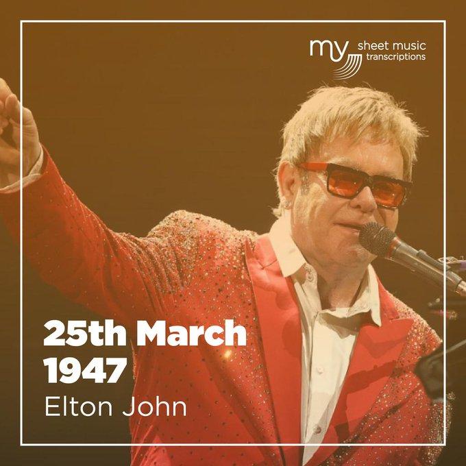 Happy birthday Sir Elton John!