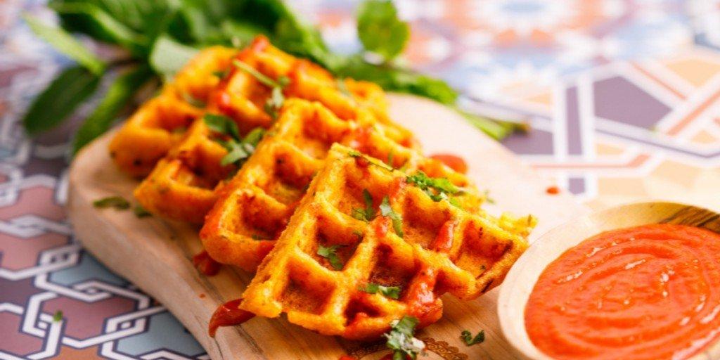 Dosa Waffles @ Bombay Streat