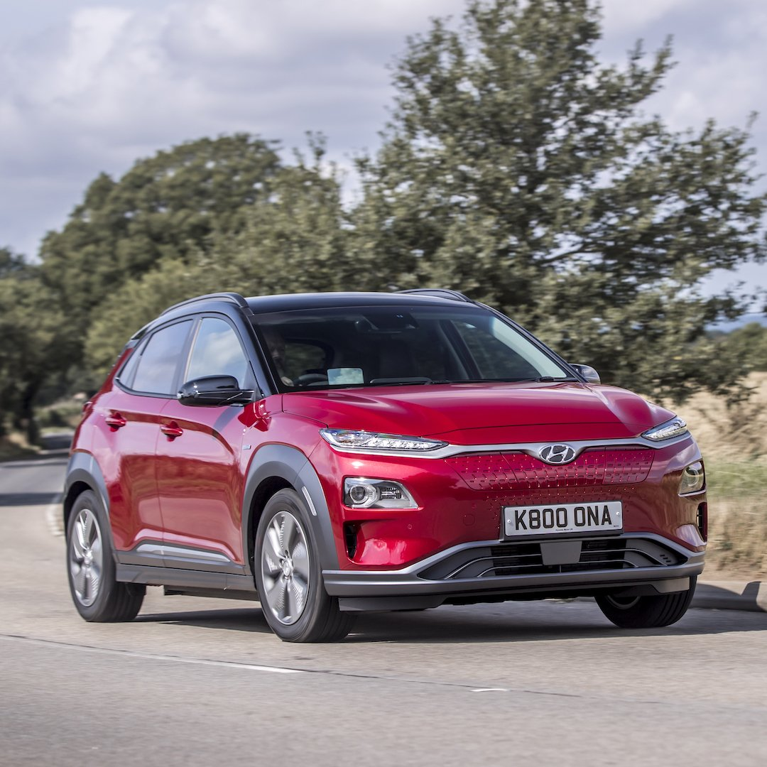 The Hyundai #KonaElectric is praised for its all-round high specification as it is named 'Best Zero Emission car' and 'Best Compact SUV' at this year's @_FleetNews awards.