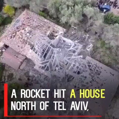 🇮🇱🇺🇸 Overnight, Israel went on high alert after a rocket hit this home North of Tel Aviv injuring 7-israeli's. As they should, Israel is vowing to respond. Please pray for our friends in Israel.🙏 #Shalom