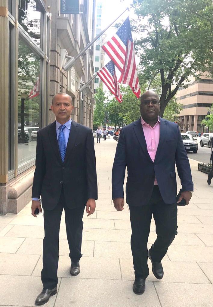 """"""" Félix, c'est un frère, le problème qui est là c'est qu'il faut d'abord décortiquer le mal, et le mal c'est quoi dans notre pays ? Pourquoi le pays n'avance pas ? Pourquoi y a-t-il eu fraude ? Le mal c'est Kabila """" - Moïse Katumbi"""