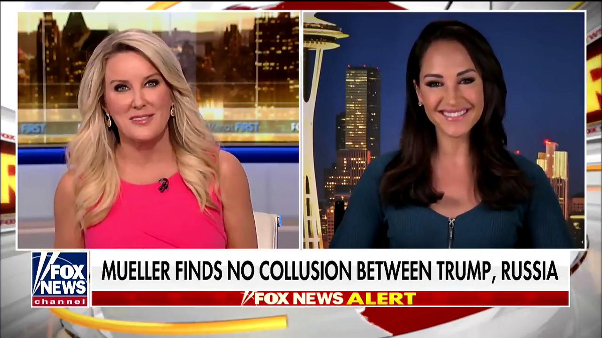 Special counsel Robert Mueller finds no evidence of collusion: now what? Insight from attorney and Fox News contributor @EmilyCompagno on @FoxFriendsFirst at 4 am with @HeatherChilders >https://www.youtube.com/watch?v=eFCo0ZA9a40…   #firstatfour