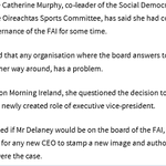 Image for the Tweet beginning: #SocDems co-leader @CathMurphyTD has questioned