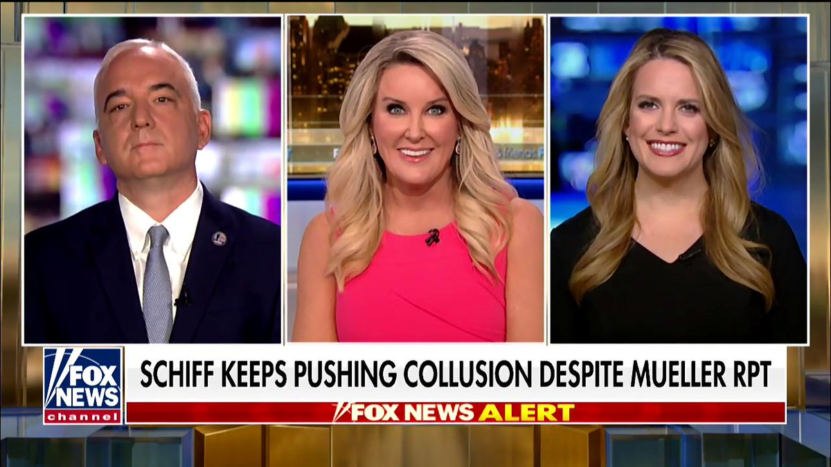 What will it take for Adam Schiff to admit the Trump campaign didn't collude with Russia?  Reaction from Democratic strategist Roger Fisk and B @bevhallberg , president of the @DistrictMediaDC on @FoxFriendsFirst at 4am with @HeatherChilders >https://www.youtube.com/watch?v=i4TWHjU9Xss…  #firstatfour