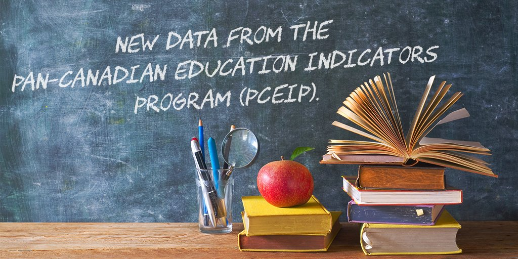 Discover a rich source of Canadian #education statistics available at the national and provincial/territorial level in our new PCEIP data tables! 📖  http://ow.ly/LTBM30ob1VD #CdnEdu