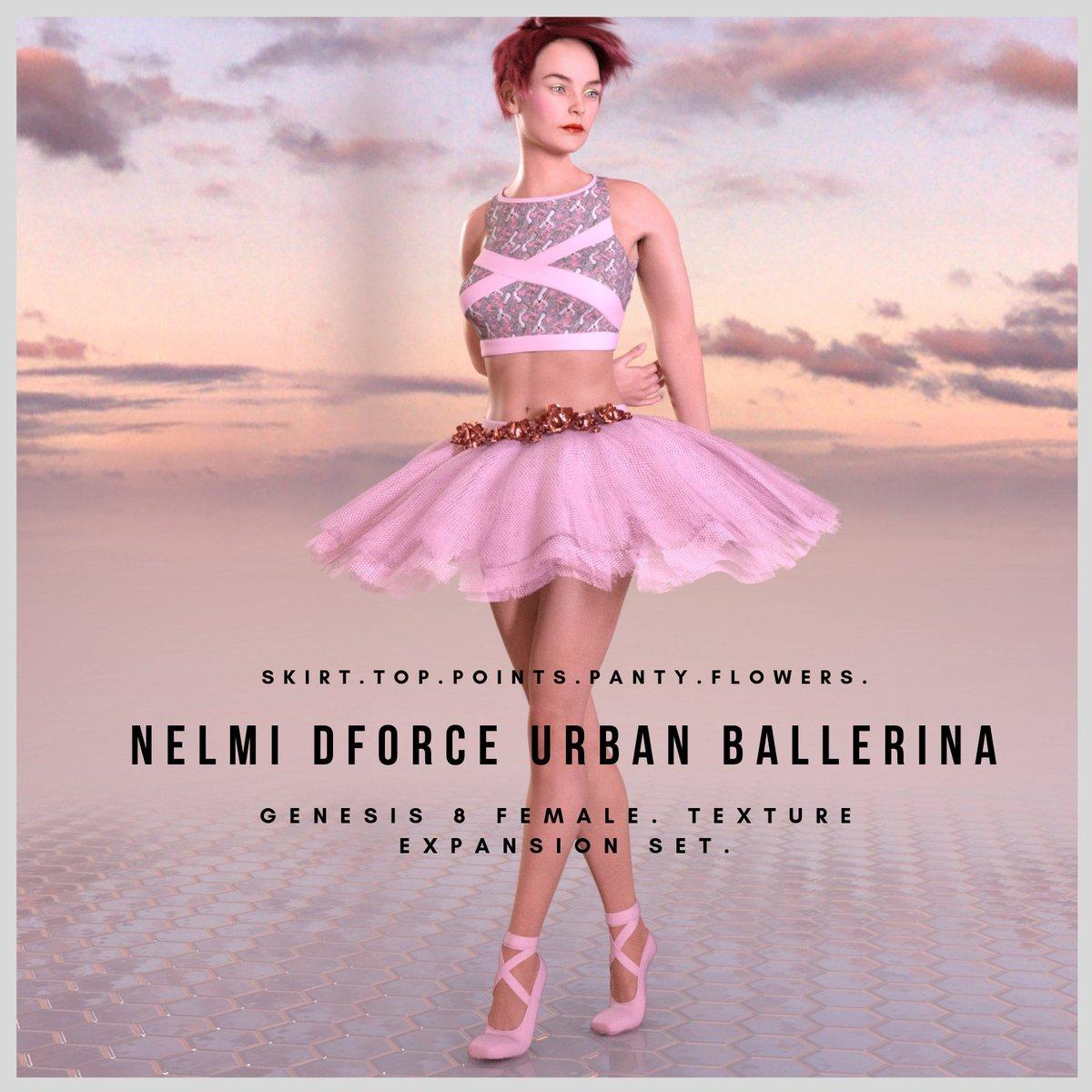 15f0bf4029a3 #3dclothing #nelmi #renderosity #daz3d #daz #clothingtextures #iray  #daziray #genesis8female #genesis8 #ballerina #3delight #textures #dancing  ...