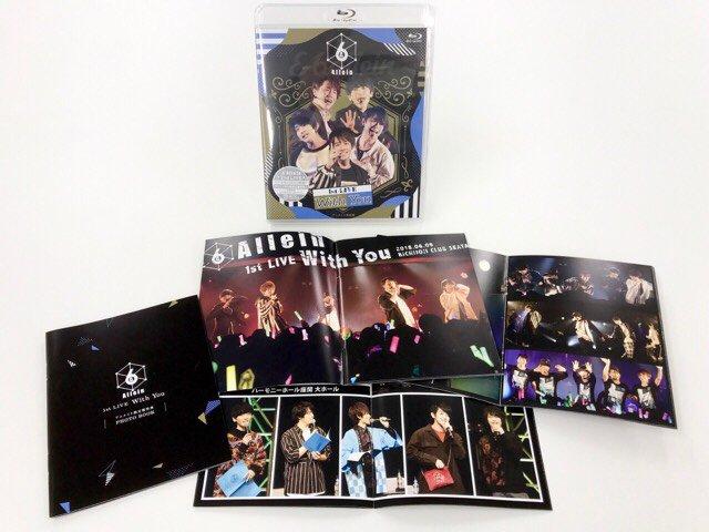 皆様こんばんは!いよいよ今週水曜日に&6allein 1stライブ「With You」BD&DVDが発売となります! ぜひ熱気と興奮がつまったこちらチェックお願いいたします~✨アニメイト限定盤はフォトブック付です❗MARINE SUPERNOVA LIVE前にぜひ予習おすすめです‼️ #アンロク