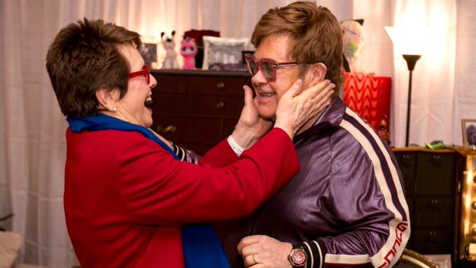 Four decades of friendship and we re not done yet! Happy birthday to my dear friend, Elton John!