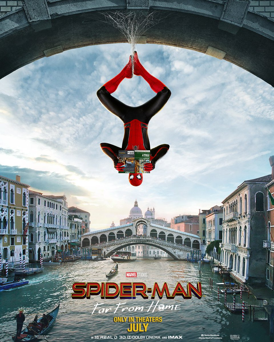 Spidey Goes International In The New Spider-Man: Far From Home Posters