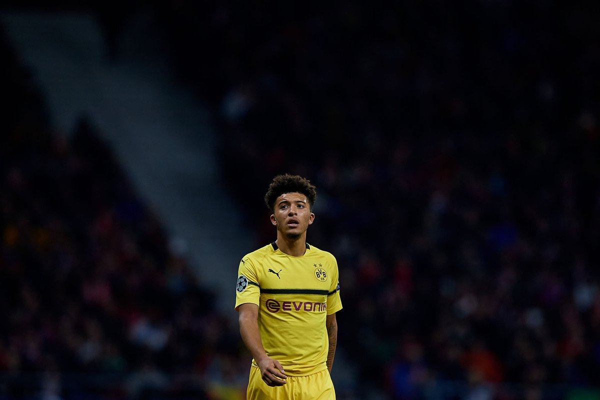 Jadon Sancho at 19 years old:  🐝 Borussia Dortmund:  • 2,999 minutes • 45 appearances • 10 goals • 18 assists  🏴󠁧󠁢󠁥󠁮󠁧󠁿 England:  • 209 minutes • 4 caps • 0 goals • 2 assists  Starboy.