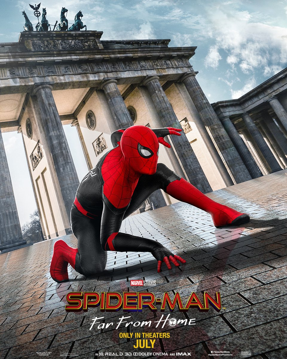 RT @ToilesHeroiques: #SpiderManFarFromHome : Le tour de l'Europe en trois posters ! https://t.co/Qdn69RLTvB https://t.co/8XwTSKOniF