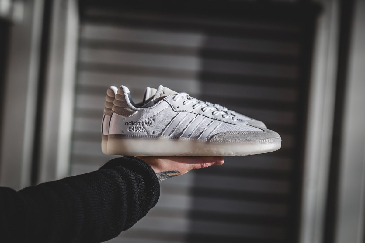 b8935cd10df ... In Stores!!!!! https   fastsole.co.uk sneaker-release-dates brands  adidas adidas-samba-rm-white-beige-bd7486  …  adidas  Samba  sneakernews   Sneakers ...