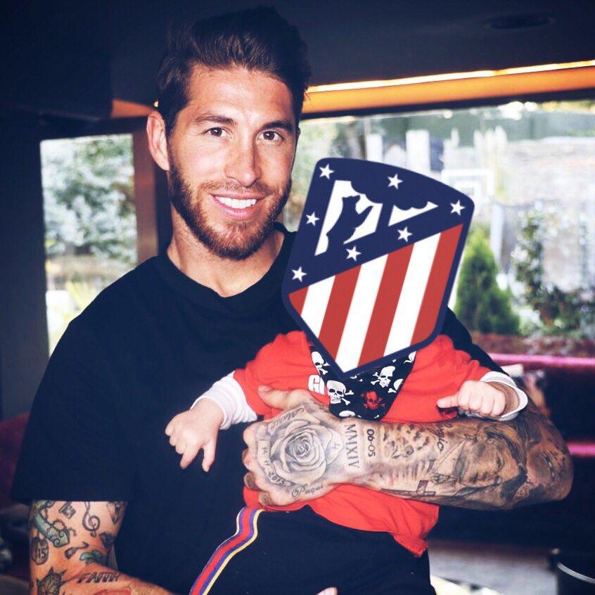 Hoy cumple años el hijo pequeño de Sergio Ramos.