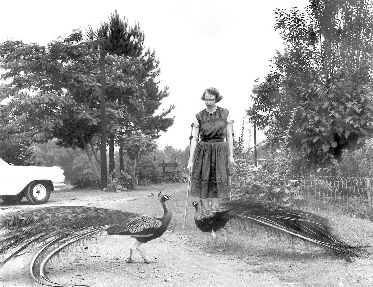 Ninety-four years after Flannery O'Connor's birth, her portrayal of race and religion in the South continues to be remarkable in its honesty and originality: http://nyer.cm/QE6h6fw