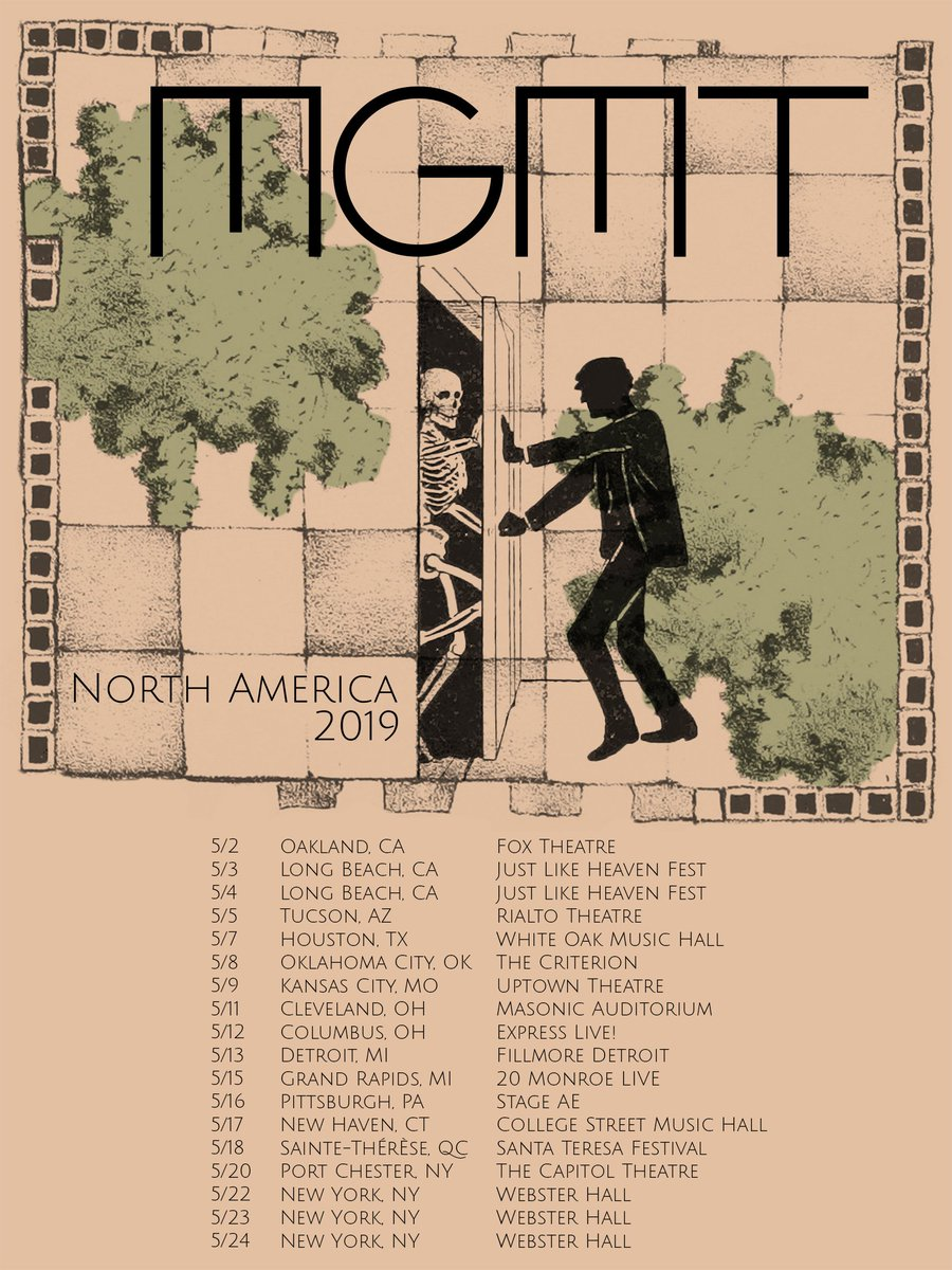 Mgmt On Twitter All Three Webster Hall Shows Are Sold Out So We Ve Added Another Ny Date 5 20 At The Capitoltheatre In Port Chester Tickets Sale This Friday Noon Est