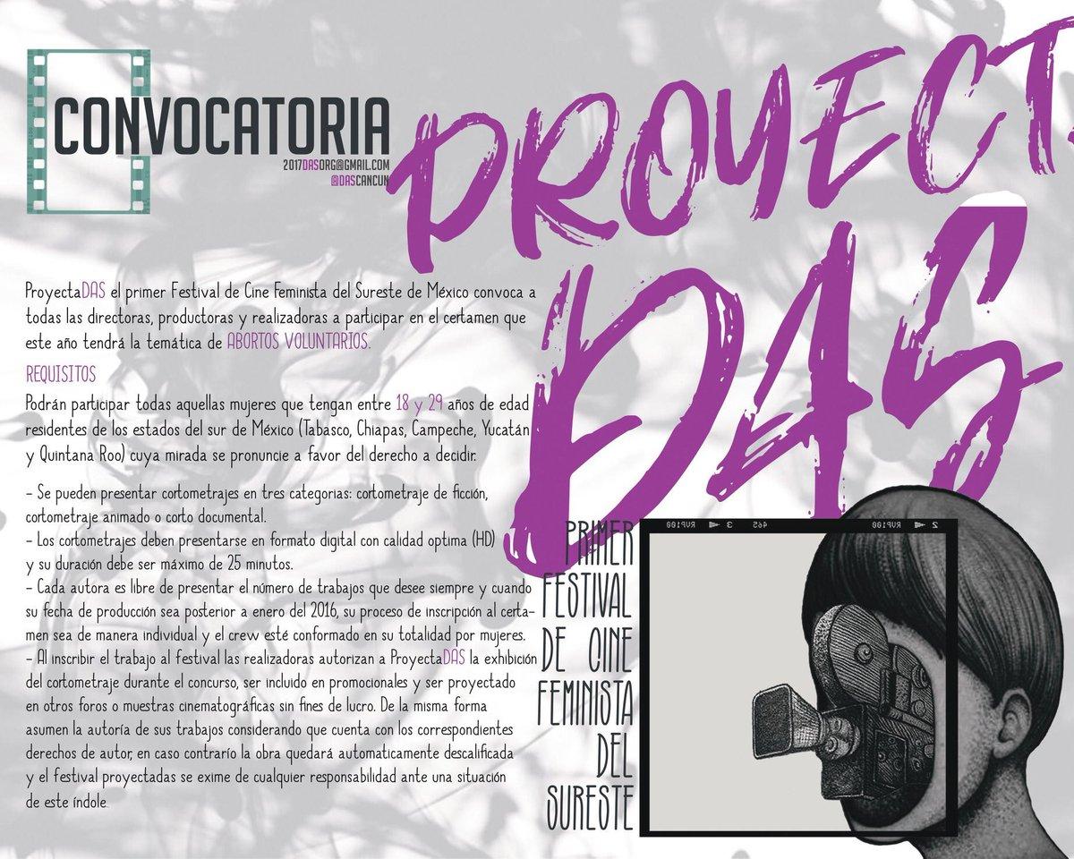 Resultado de imagen para festival de cine feminista en el sureste de México