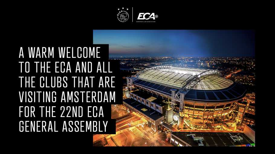 Welcome to Amsterdam! 🤝  #ECAGeneralAssembly
