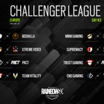 Image for the Tweet beginning: EU Challenger continues today! See