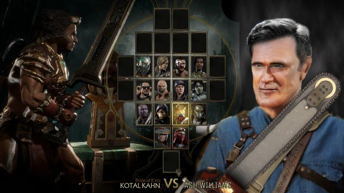 MK11 #MortalKombat11 #AshVsEvilDead #Horror #BruceCampbell @noobde