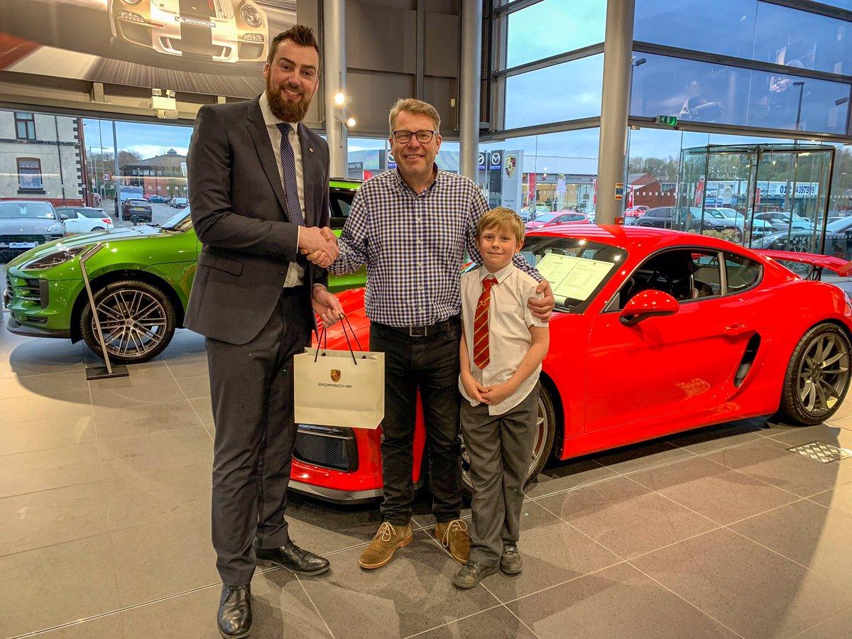 Congratulations to Andy who took part in our Porsche quiz during the 992 launch evening last week. Andy's prize is a stunning Porsche watch. #porschecentrebolton #porschegb #porsche #excellentcustomerservice #greatteam #porschewatch #porschedriverselection #winner #porschequiz
