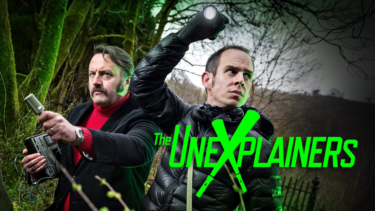 TONIGHT! It's been a long time coming - our great friends @EggsyGLC & @MikeBubbins aka @theunexplainers blast onto our TV screens from 10, kicking their new adventures off with the mystery of the Big Cats.   @BBCTwo Wales & @BBCiPlayer from 10 PM.  https://t.co/POi79Z1SOa https://t.co/splyVs7w9S