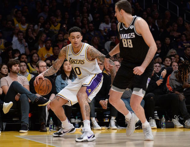 cd4d4ce3a kyle kuzma discussed how the season has been challenging mentally and  physically