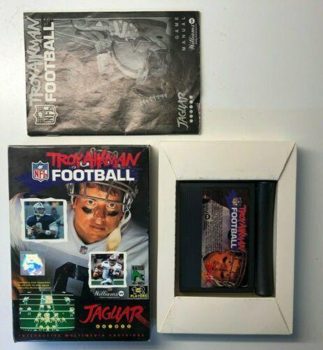 Troy Aikman NFL Football (#Atari #AtariJaguar) COMPLETE #retrogaming #ebay 🔥🔗https://t.co/fiGUDKakRt https://t.co/exfibXeY0M