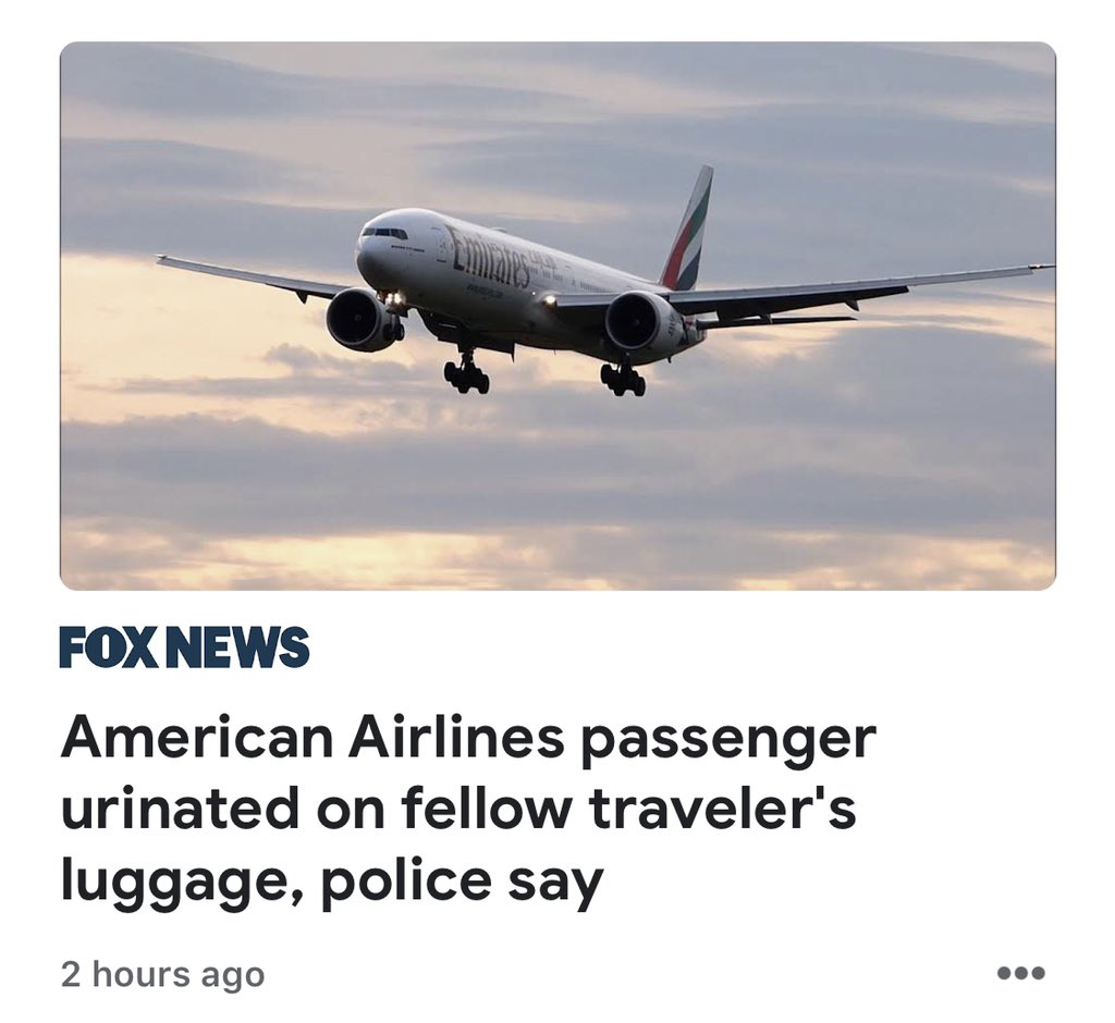 Tough day for American Air...