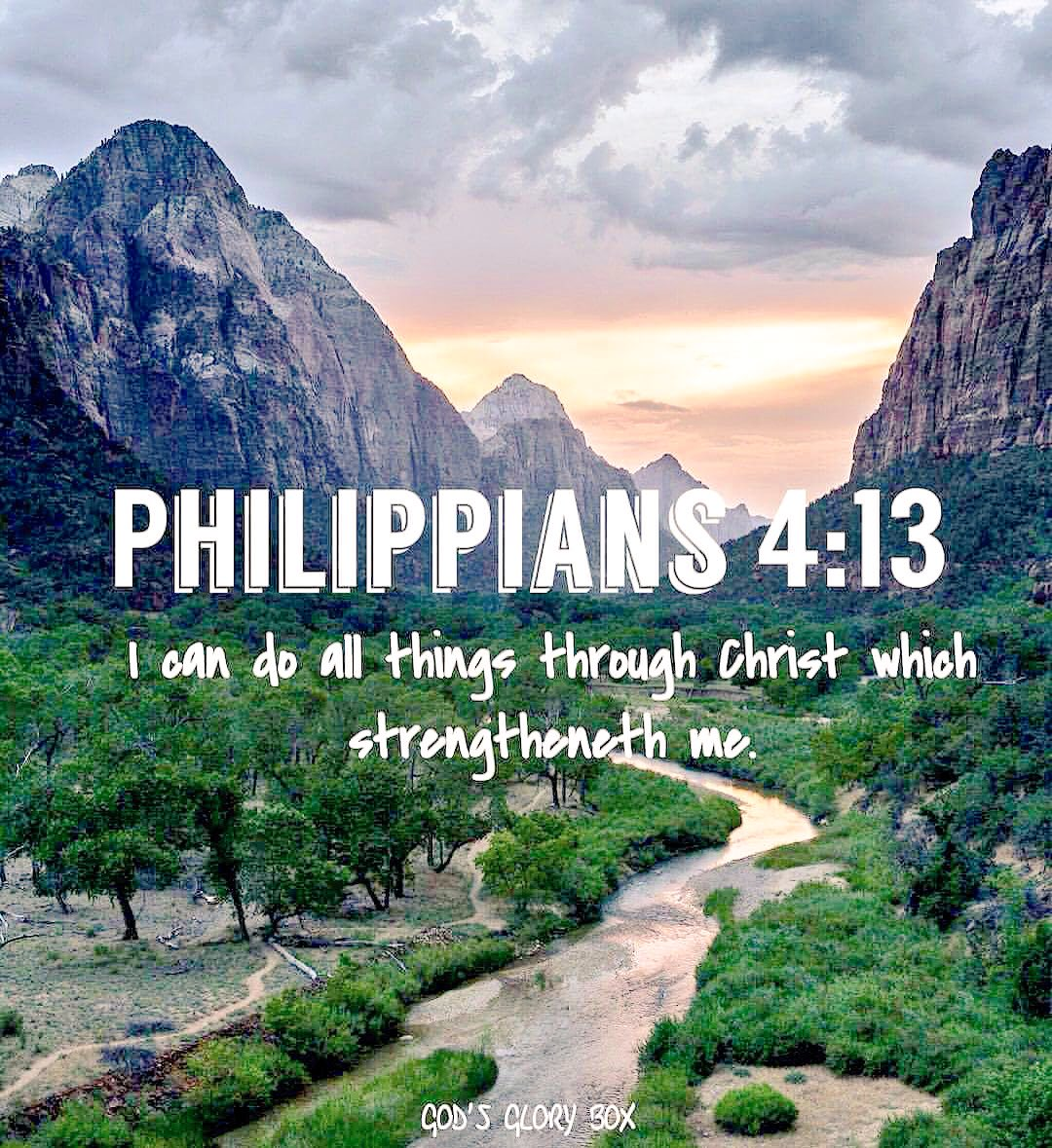 """🙏🏼""""Not some things, but ALL things In💪🏼👑💪🏼#JESUS !😇 #MondayMotivaton #MondayThoughts #Strength #Prayers"""