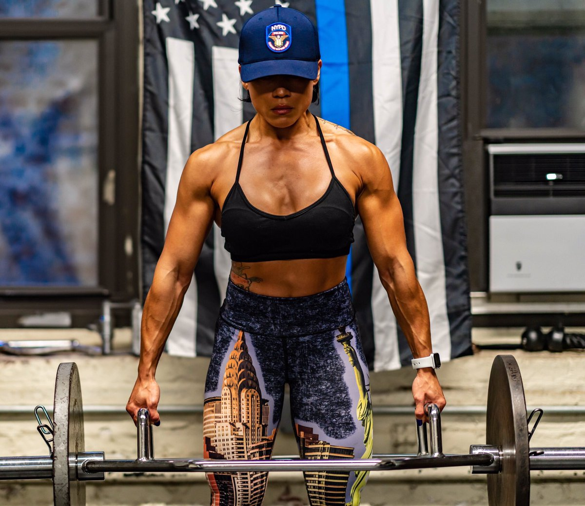 Word hard, play hard! 💪🏋️♀️  Officer Camacho from the Strategic Response Group has our vote for #MondayMotivation. She trains hard to protect this city and participates in fitness competitions when she's off duty. #WomensHistoryMonth