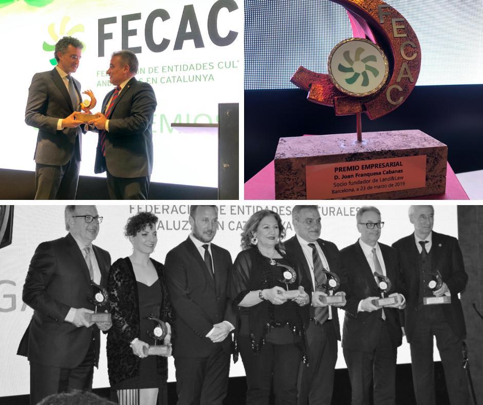Gràcies a @FederacionFecac pel reconeixement al nostre director, Joan Franquesa al que heu distingit amb el premi empresarial.Ho hem passat molt bé en la gala dels premis que heu organitzat en motiu del 35enes Jornades Commemoratives del Dia de Andalucía.