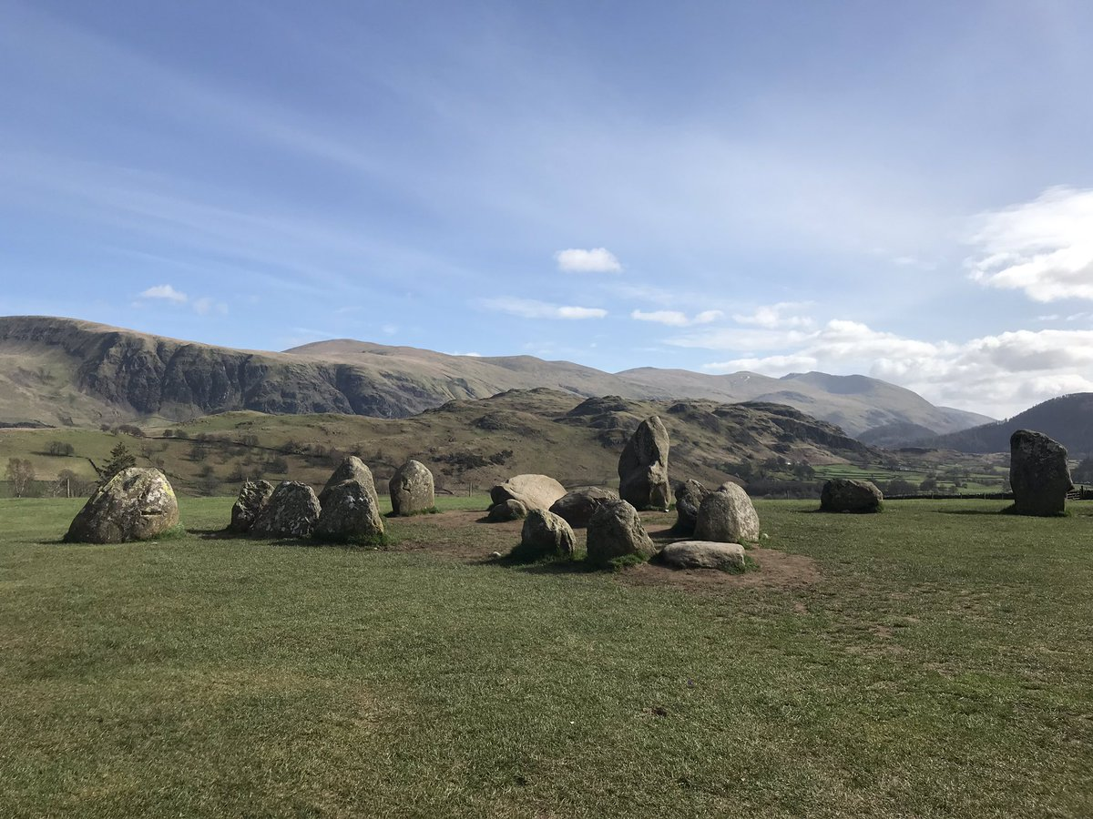 Afternoon wander #LakeDistrict #Stonecircle