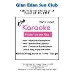 Image for the Tweet beginning: Club Karaoke premieres Friday Night